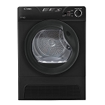 Candy GCC591NBB Black 9KG Sensor Condenser Dryer 2 Only ex display models