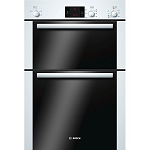 Bosch HBM13B221B Classixx Double Built in Oven in White  1 ONLY DISPLAY MODEL AT THIS PRICE
