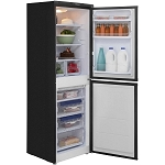 Hotpoint HBNF5517B 55cm Wide Frost Free Fridge Freezer in BLACK