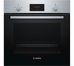 **Back in Stock** Bosch HHF113BR0B Built in Single Electric Oven In Stainless Steel