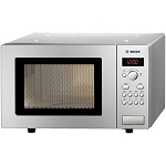 BOSCH HMT75M451 BRUSHED STEEL 800W MICROWAVE.