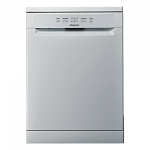 Hotpoint HFC2B19 Full size 60cm Wide 13 place setting dishwasher  in Silver