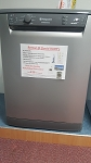Rent this Quality Refurbished Graphite Full Sized Dishwasher- **GET YOUR FIRST MONTHS RENTAL FREE ON THIS ITEM**