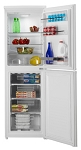 Hoover HVBF5172WK 55cm wide 177cm tall FROST FREE Fridge Freezer with 4 Freezer drawers and Bright LED interior lighting