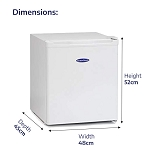 IceKing TF40W 40 Litre Table Top Mini Freezer