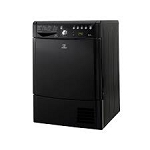 Indesit IDCE8450BKH 8KG Condenser Tumble Dryer With Sensordry in Black