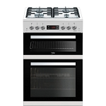 Beko KDG653W Gas cooker with Double Oven. 3 ONLY INC DISPLAY MODELS AT THIS PRICE.
