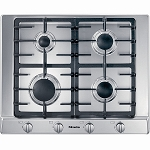 Miele KM2010 Built in Gas Hob in Stainless Steel 1 Only ex display model