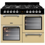 Leisure Cookmaster CK100f232 100cm Dual Fuel Range Cooker available in Black, Cream, Red, Blue or Silver