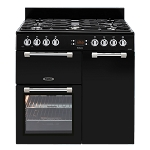 Leisure Cookmaster CK90G232 90cm Gas Range Cooker available in Black or Cream (Good Housekeeping Institute approved model 2016)