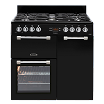 Leisure Cookmaster CK90f232 90cm Dual Fuel Range Cooker  in  Black - One only in stock display model