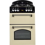 Leisure Classic 60cm Gas Mini Range Cooker in Cream or Black- available to order