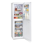 Montpellier MFF171W 55cm Wide Frost Free Fridge Freezer In White With 2 Year Warranty  - 1 ONLY DISPLAY MODEL