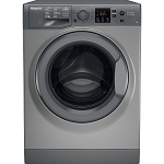 Hotpoint NSWR743UGK 7kg Load 1400 RPM Spin Speed Washing Machine in Graphite