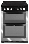 Newworld NW601EDO 60cm Double Oven Electric Cooker in Stainless Steel with 3 Year Guarantee