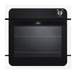 New World NW601G Gas Integrated Built in Single Oven - Available in White, Black or Stainless Steel
