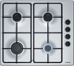 Bosch PBP6B5B80 Gas Hob in Stainless Steel **1 ONLY DISPLAY MODEL AT THIS TIME-**