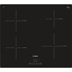 Bosch  PUE611BF1B Built in frameless Induction Hob-easy install plugs into a 13amp supply with Free Set of Induction Pans (Limited period offer)