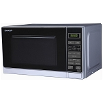 Sharp R272SLM 800W 20 litre  touch control Microwave - In Silver