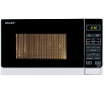 Sharp R272SLM 800W 20 litre  touch control Microwave - In White