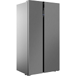 Beko RASFLE72PX American Style Frost Free Fridge Freezer in Brushed Steel. 1 ONLY AT THIS PRICE.