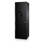 SAMSUNG RB29FWJNDBC BLACK FROST FREE FRIDGE FREEZER WITH IN DOOR WATER DISPENSER