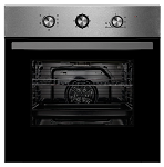 Montpellier SBF065X Single Built-In Oven in Stainless Steel