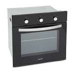 Montpellier SBF059B Single Built-In Oven in Black