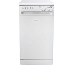 Hotpoint SIAL11010P Slimline Dishwasher in White - only 45cm Wide, Ideal for Smaller Kitchens. 1 ONLY DISPLAY MODEL AT THIS PRICE.