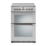 Stoves Sterling 600E Double Oven 60cm Electric Cooker in Stainless Steel