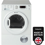 Hotpoint SUTCD97B6P Large 9Kg Load Sensor Condenser Tumble Dryer