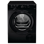 Hotpoint TCFS83BGk 8kg Sensor Condenser Tumble Dryer in Black