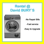 RENT this Hotpoint 8kg Sensor Condenser Tumble Dryer in Graphite Silver