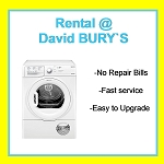 RENT this Hotpoint 8kg Sensor Condenser Tumble Dryer with Clear Door