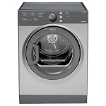 Hotpoint TVFS83CGG 8kg load Vented Tumble Dryer in Graphite Silver. 1 ONLY AT THIS PRICE.
