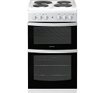 Indesit ID5E92KMW 50cm Twin Cavity Electric Cooker  **HALF PRICE DELIVERY AND INSTALLATION ON THIS MACHINE ENDS 13.2.21**