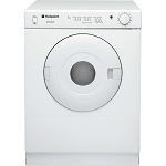 Hotpoint NV4D01 4kg Load Capacity Vented Tumble Dryer in White