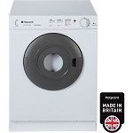 Hotpoint V4D01 4kg Load Capacity Vented Tumble Dryer in White