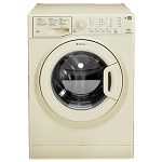 Hotpoint WMAQL721A 7kg 1200 spin Washing Machine in Cream (other Cream appliances available to match) 1 Only ex display model