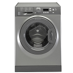 Hotpoint WMBF742G 7kg load 1400 spin Ecotech Washing Machine with Anti Stain and Anti Allergy programmes in Graphite