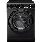 Hotpoint WMBF742K 7kg load 1400 spin Ecotech Washing Machine Anti Stain and Anti Allergy programmes in Black