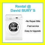 RENT this Hotpoint 7kg load 1400 spin Washing Machine