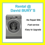 RENT this Hotpoint 8kg load 1400 spin Washing Machine in Graphite Silver