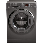 Hotpoint WMFUG863G 8KG Load Capacity, 1600 Spin Speed Washing Machine in Graphite - MANAGERS SPECIAL