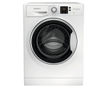 Hotpoint NSWE742UWSUKN 7kg Load, 1400 Rpm Spin Speed Washing Machine in White