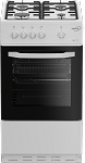 Zenith ZE501W 50cm Gas Cooker in White