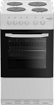 Zenith ZE503W 50cm Electric Cooker in White