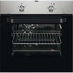 Zanussi ZZB30401XK Single Built In Fan Assisted Oven in Stainless Steel