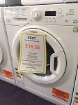 RENT this Hotpoint 8kg load 1400 spin Washing Machine  FAST service FREE repairs!