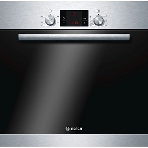 Bosch HBA13B150B Built In Single Fan Oven in Brushed Steel **SPECIAL OFFER Half Price Standard Installation on This Cooker-offer ends Xmas Eve**